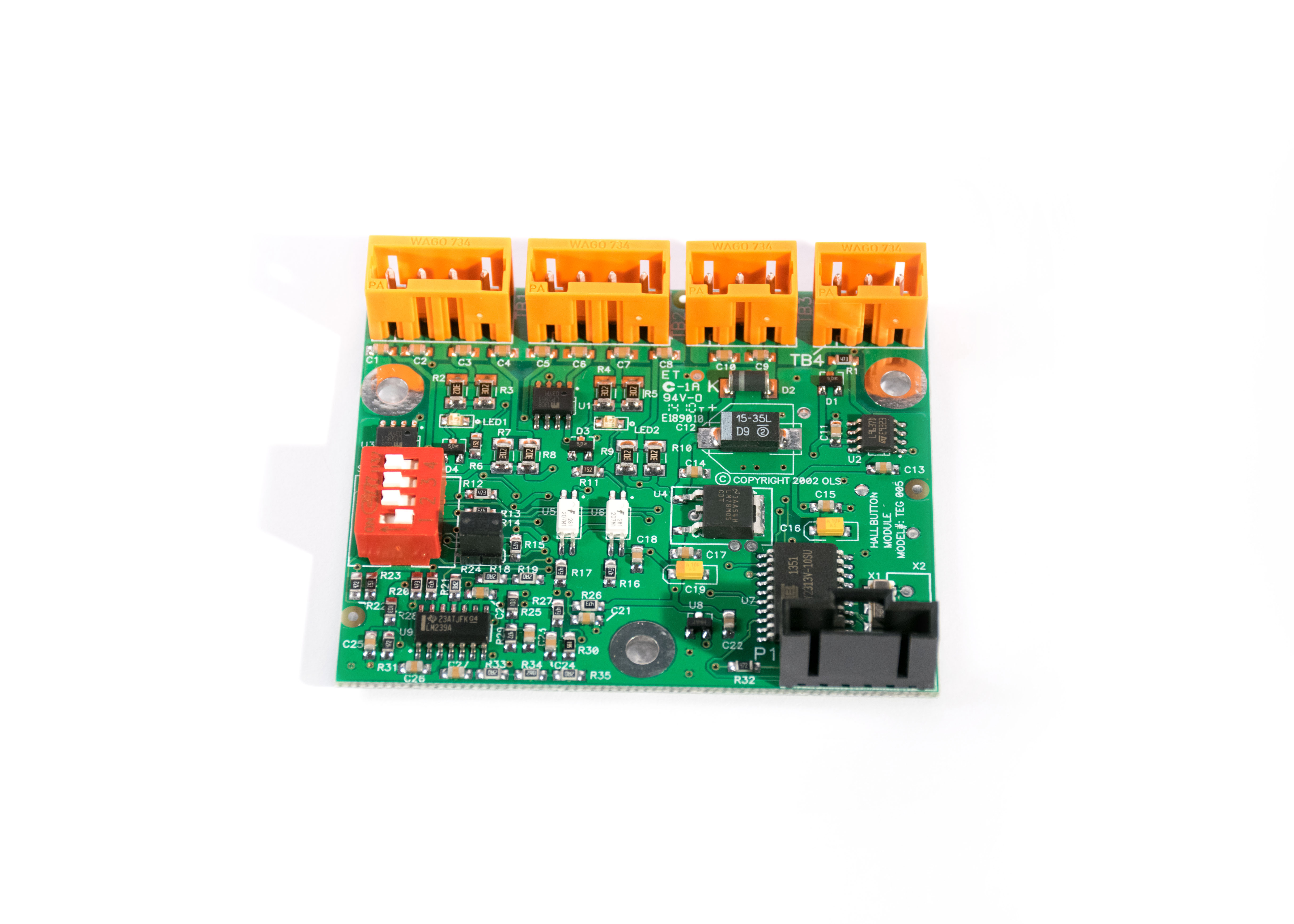 Hall Button Board OLS# 146704 Image